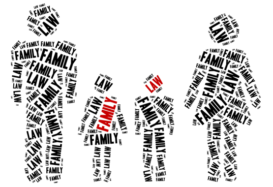 picture illustrating the concept of family law
