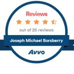 Joseph Michael Borsberry, AVVO Clients' Choice Award, Criminal Law, Divorce Law, Family Law